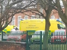 VIDEO: Emergency services called to Dinnington college campus after students fall ill