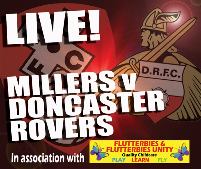 MATCHDAY LIVE: Rotherham United v Doncaster Rovers