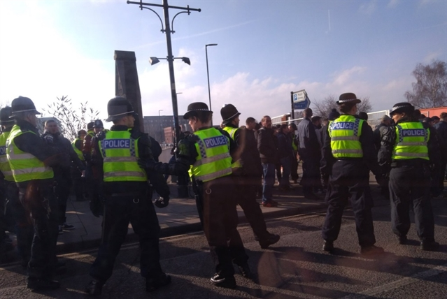 VIDEO: Dozens issued with police dispersal orders over 'intimidating behaviour' before Rotherham v Doncaster match