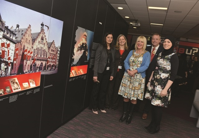 Anne Frank exhibition opens in Rotherham