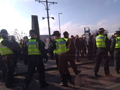 Police 'disappointed' by series of clashes on South Yorkshire derby day