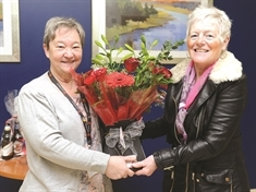 A loving surprise for competition winner Jackie