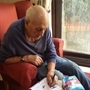 Care home residents take part in RSPB wildlife survey