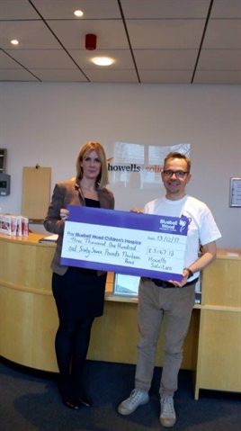 Rotherham's Bluebell Wood hospice boosted by law firm's Howells Solicitors donation