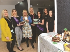 Beauty queens' coffee shop fundraiser boosts Macmillan Cancer Support