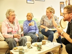 Tea parties for elderly group seeks Rotherham volunteers