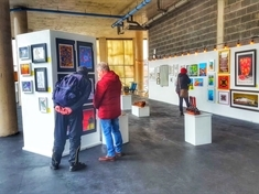 VIDEO: Art show exhibits some of the county's best modern works