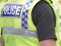 Police support newsagent staff after armed robbery
