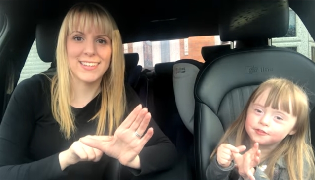 Heart-melting Carpool Karaoke video made for World Down's Syndrome Day