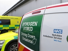 Ambulance service drives down emissions with hydrogen vans