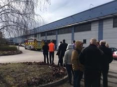 Explosion at Manvers print firm