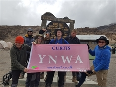 Trekkers' delight at conquering African peak