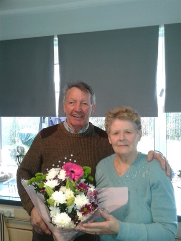 Fifty golden years for Mr and Mrs Mexborough