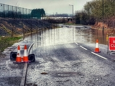 TRAVEL: Bus service disrupted due to flooding