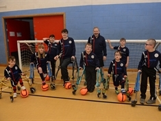 Young frame footballers looking for new teammates