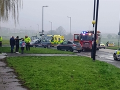 Biker sustains 'serious injuries' in Greasbrough traffic smash