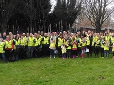 VIDEO: Thorpe Hesley litter pick organisers stunned by 100-strong turnout