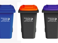 VOTE: Choose the colour of Rotherham's new bin