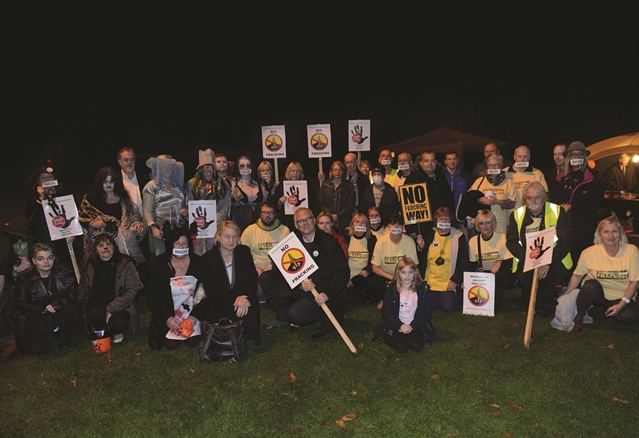 Woodsetts Fracking Protesters Keep Keen Eye On Inquiry