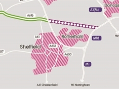 Plans for a new dual carriageway through Rotherham