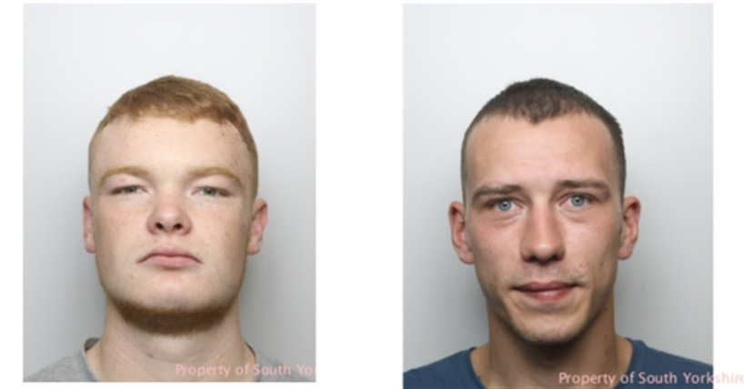 Men jailed after 'life-threatening' attack on police officer