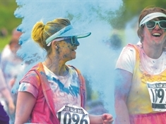 Bluebell Wood's Colour Dash postponed until summer