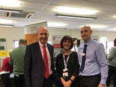 MP John Healey''s praise as 1,200 attend job fair
