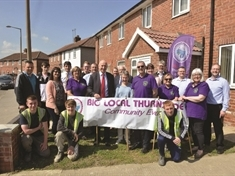 'Big' celebration at open day for transformed Thurnscoe homes