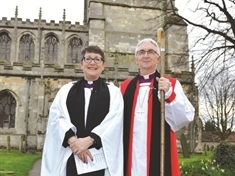 Tickhill welcomes first female vicar in 700 years