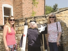 Gangsta Granny and Kim Jong-un join the ranks of Tickhill scarecrows