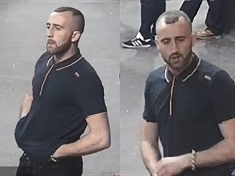 Transport police seek man over train assault