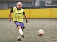 Walking football star Tommy Charlton to follow in famous brothers' England footsteps