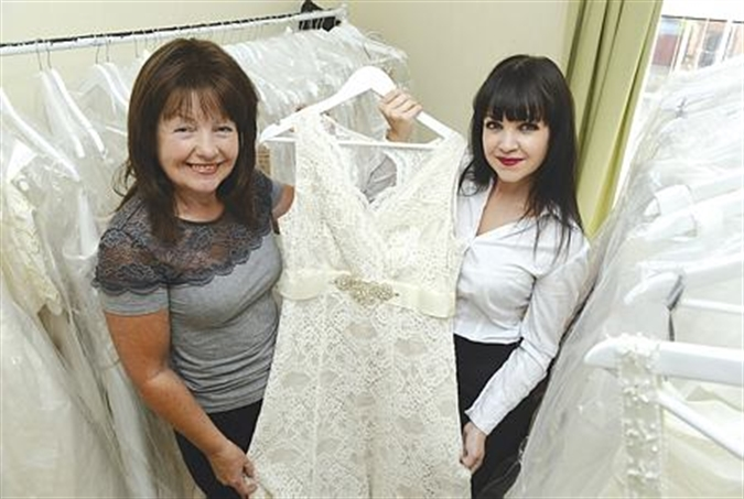 Wedding Dresses Help Mum And Daughter Raise Cancer Charity Cash