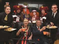 Hats off to Rotherham College students for fundraising tea party