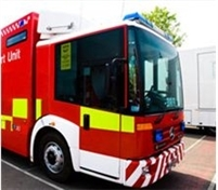 Van attacked by arsonist in Wingfield