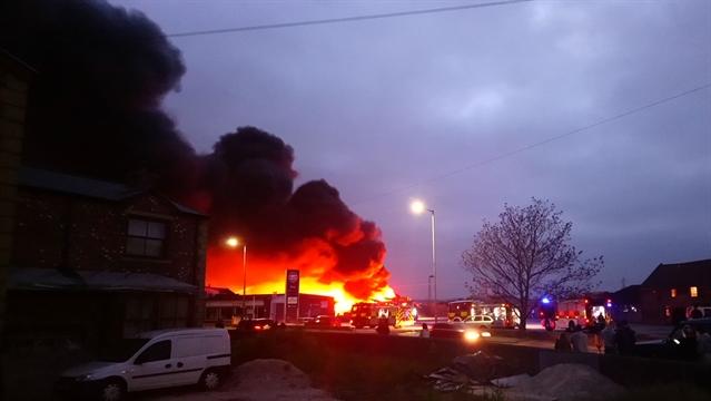 Investigation Into Thrybergh Garden Centre Fire
