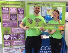 Walks get Rotherham College students on the move toward better health