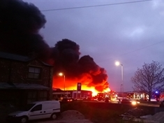 Thrybergh garden centre blaze 'started deliberately'