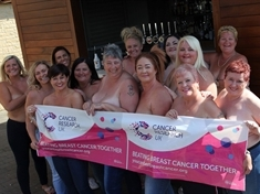 Only the breast for cancer charity