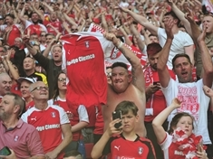 GALLERY: Rotherham United fans at Wembley