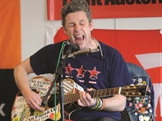 Protest songs performed at Rotherham trade union event