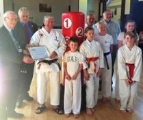 Funding kick for Swinton karate club