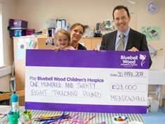 Bluebell Wood Children's Hospice quids-in after Meadowhall tie-up