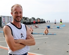Former Maltby pupil keeping 500 Royal Marines ship-shape on Far East expedition