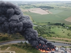 Sixty firefighters attend Kilnhurst recycling centre blaze