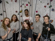 Thomas Rotherham College teenagers build skills with adventure challenge