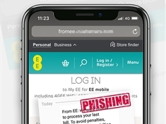 Warning over mobile phone phishing scam texts