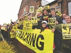 Anti-fracking group's appeal for help funding Harthill appeal
