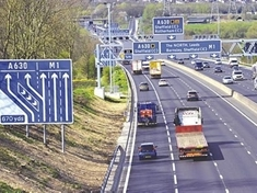 Man recovering after M1 collision near Catcliffe