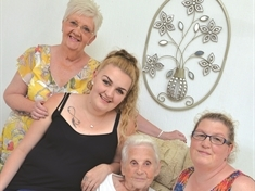 Five generations up for growing Herringthorpe family